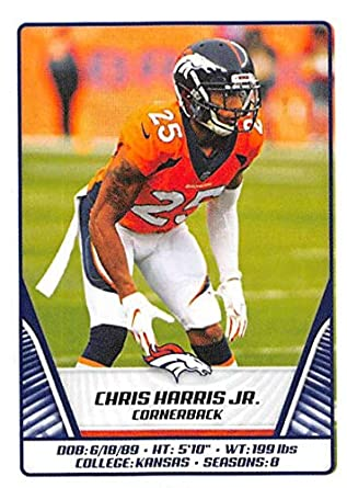 huge selection of 0f537 055ea Amazon.com: 2019 NFL Stickers Collection #237 Chris Harris ...