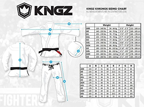 Kingz BALISTICO 2.0 - White - A3