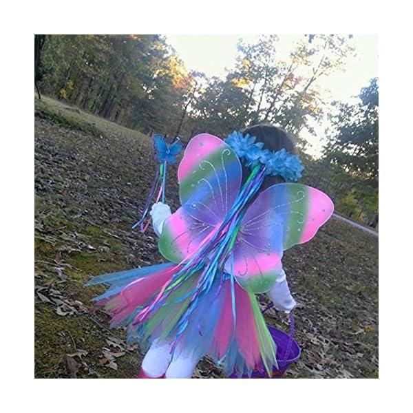 danballto girls fairy wings for birthday party favor
