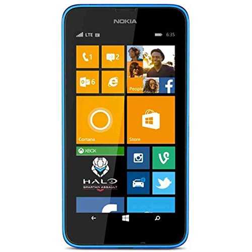 Nokia Lumia 635 RM-975 AT&T Unlocked Windows Phone - Blue (Certified Refurbished)