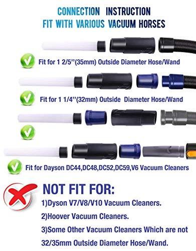 Universal Vacuum AttachmentsBrush Cleaner Dirt Remover Vacuu