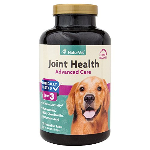 (NaturVet Joint Health Time Release Level-3 Supreme Hip & Joint Dog Supplement )