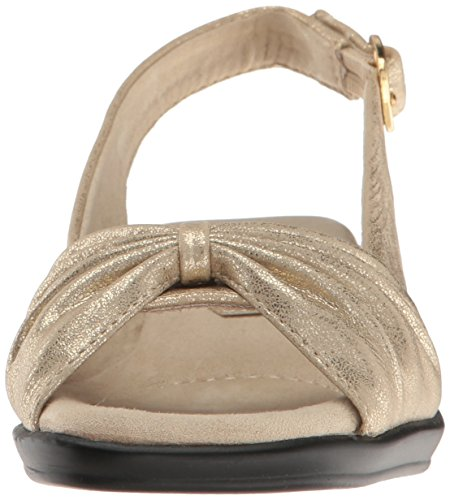 Gold Soft Fantasia Street Women's Heeled Easy Sandal 1CxO4qRRw