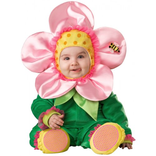 InCharacter Baby Blossom Costume, Green/Pink/Yellow, Medium for $<!--$36.43-->