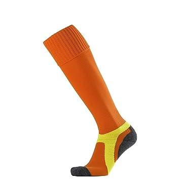 WXMDDN-Calcetines de fútbol/Toallas de fútbol con Fondo de Toalla/Calcetines Largos Antideslizantes de Tubo/Calcetines Deportivos,Naranja: Amazon.es: Hogar
