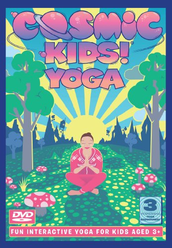 Cosmic Kids Yoga - Series 1 DVD. Fun yoga adventures for kids aged 3