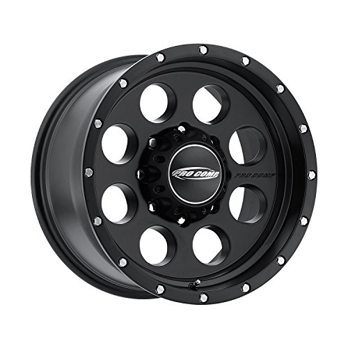 Pro Comp Wheels 5045-7982 Xtreme Alloys Series 5045 Satin Black Finish Size 17x9 Bolt Pattern 8x6.5 in. Back Space 4.5 in. Offset -6 Max Load 3650 Xtreme Alloys Series 5045 Satin Black Finish ()