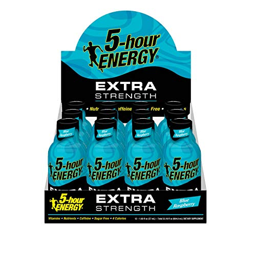 Extra Strength 5-hour ENERGY Shots – Blue Raspberry – 24 Count by 5-hour ENERGY (Image #6)