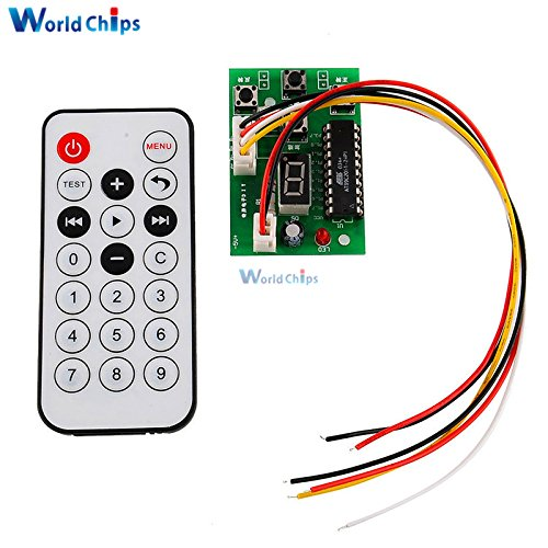 Stepper Motor Driver Controller Board Speed Adjustable DC4 ~ 6V / 300 ~ 500mA With Remote Control