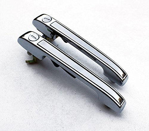 Euro Chrome Front Door Handles Opener For For VW Rabbit Golf MK1 1 MK2 2 Jetta Scirocco