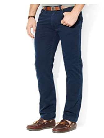 0a02c612ce36 Image Unavailable. Image not available for. Color  Polo Ralph Lauren  Straight-Fit 5-Pocket Chino Pant