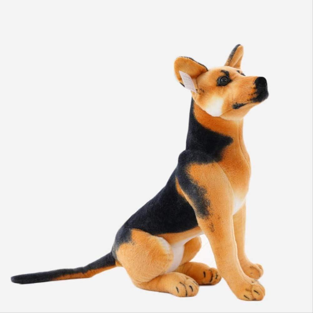 Yzhome Juguete Gigante para Perros Tplush 40 Cm,Animales De Peluche Realistas Pastor De Perro Alemán Peluches Regalo para Niños Decoración del Hogar Juguete para Mascotas