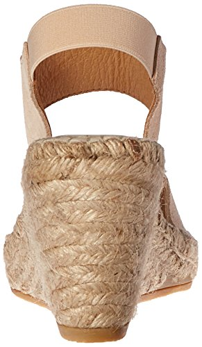Assous Andre Wedge Sandal Brenda Women's Suede Espadrille Taupe AdwrqTdx