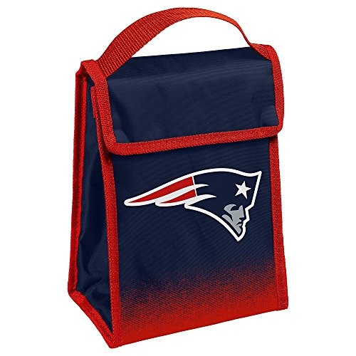 New England Patriots Gradient Velcro Lunch Bag