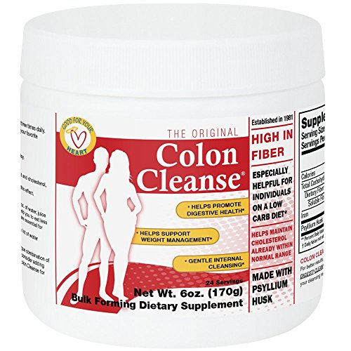 Health Plus Colon Cleanse, Regular Jar, 6 Ounce