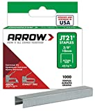 #4: Arrow Fastener 276 Genuine JT21/T27 3/8-Inch Staples, 1,000-Pack