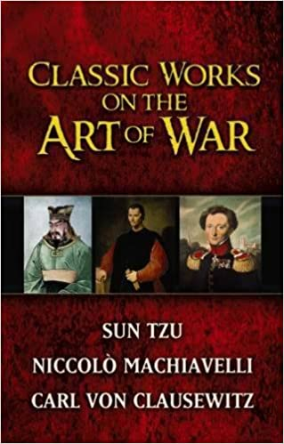 Book Classic Works on the Art of War (Boxed Set): WITH Sun-Tzu's 'The Art of War' AND Niccolo Machiavelli's 'The Art of War' AND Carl Von Clausewitz's ... War' (Dover Military History, Weapons, Armor)