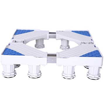 Base Para Nevera Y Lavadora Carretilla Ajustable Móvil Multifuncional 360 ° Gire Con 12 Pies Fuertes