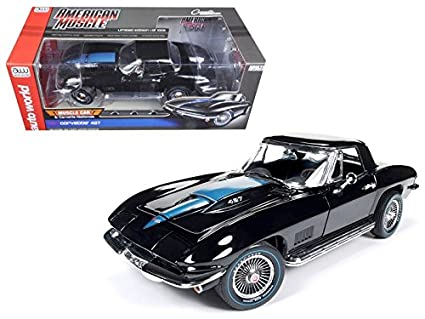 Amazon Com 1967 Chevrolet Corvette 427 Tuxedo Black Mcacn