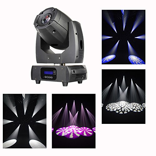 Boulder Club - Boulder Professional LED Mini Spot 150W DMX512 Supper Bright Muti-funtional Compact Size and Light Weight Stage Party Show, For Disco, Ballroom, KTV, Bar ,Club, Party, Wedding
