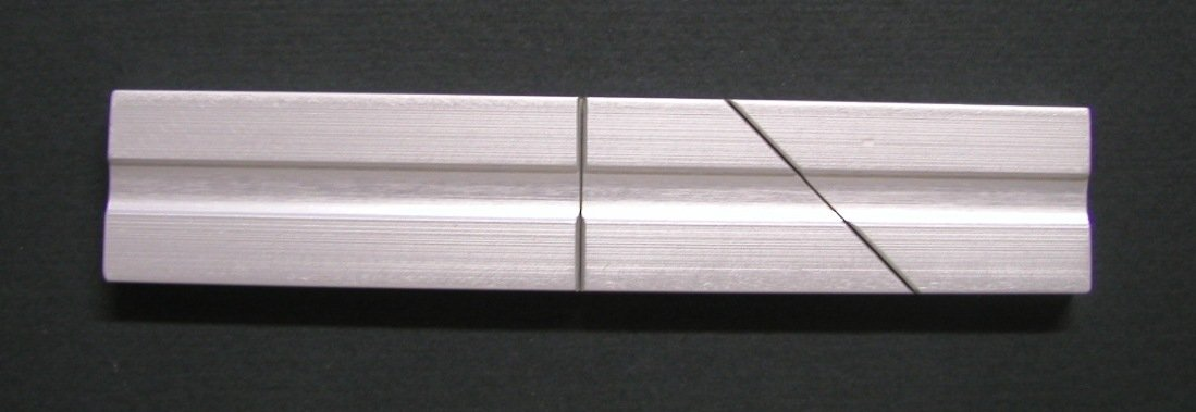 Splicing and Editing Block for 1/4'' tape (Reel-to-Reel, 8 track & DVM MiniDV Tape)