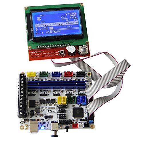 Cikuso - Placa Base para Impresora 3D MKS Gen L + 12864LCD Display ...