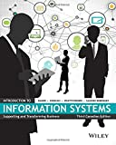 Introduction to Information Systems, Third Canadian Edition