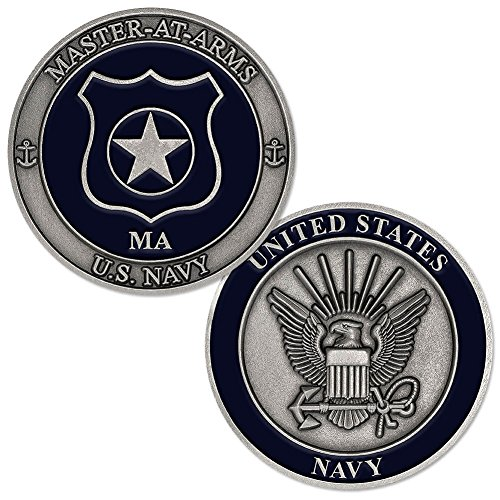 Master Navy Arms (U.S. Navy Master At Arms (MA) Challenge Coin)