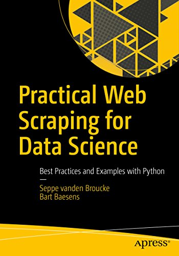 Practical Web Scraping for Data Science: Best Practices and Examples with Python Reader