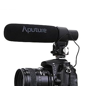 Aputure V-Mic D2 - Sensitivity Adjustable Directional Condenser Shotgun Microphone