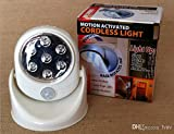 Motion Activated Cordless Light: Indoor/Outdoor