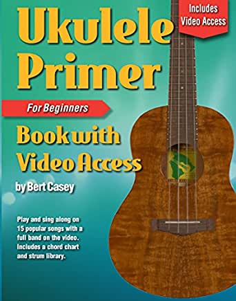Amazon Ukulele Primer Book For Beginners Online Video Access