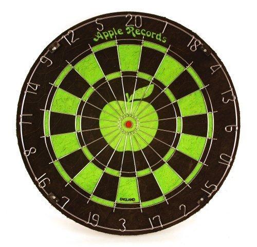 Apple Records Green Vintage Matchplay Dartboard