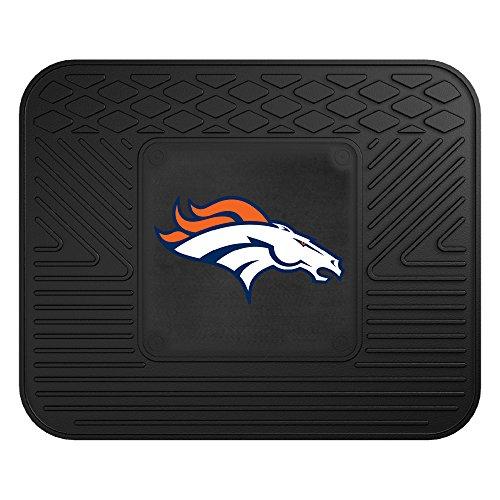 Denver Broncos Floor Rug (FANMATS NFL Denver Broncos Vinyl Utility Mat)