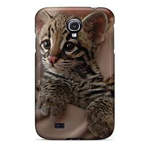 (zGszzyD1677UiSZo)durable Protection Case Cover For Galaxy S4(tiger Cub)