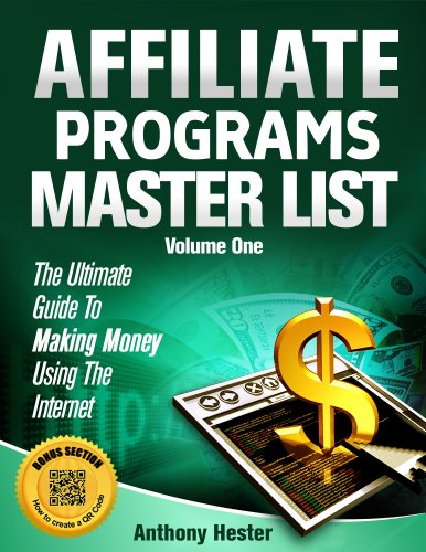 Affiliate Programs Master List Volume One