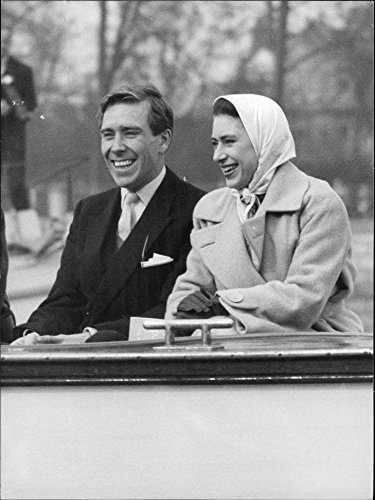 Vintage photo of Princess Margaret pre 1980 for children Jee LInley Viscount & Armstrong -Jones Lady Sarah