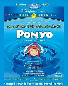 Ponyo (version française) [Blu-ray + DVD]