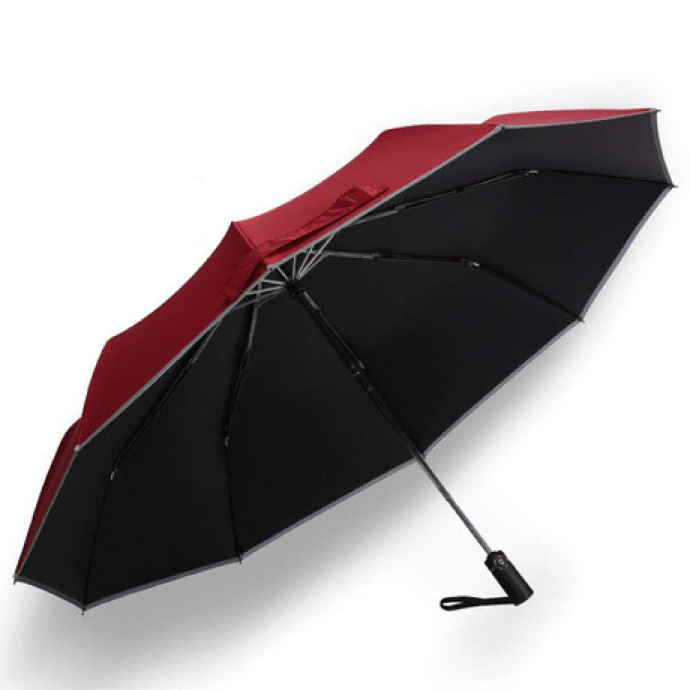 Myzixuan,Windproof Travel Umbrella Dupont Teflon Featherweight. Auto Open/Close,One Handed Operation, Portable Case