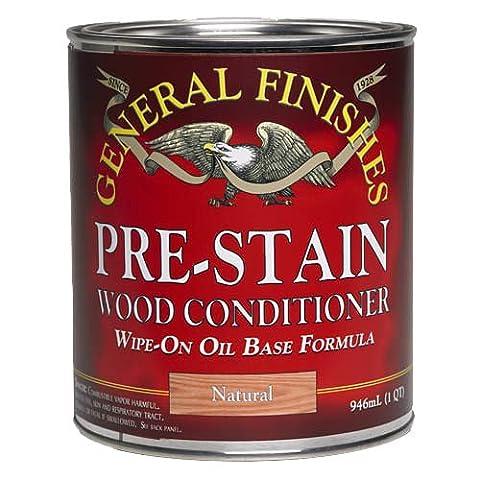 Pre-Stain Wood Conditioner, Quart (Pre Stain Conditioner)