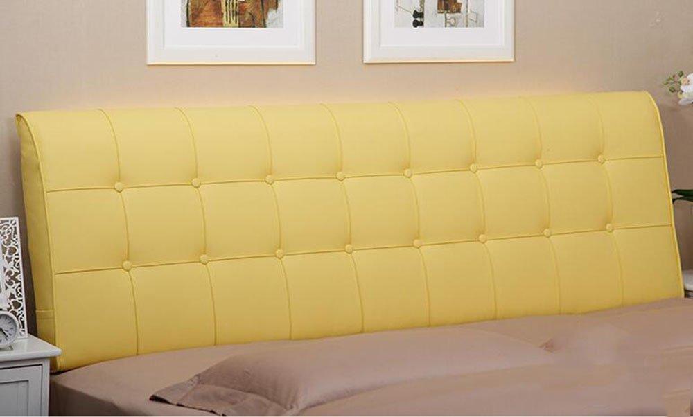 AIDELAI Backrest- Bedside Cushions Bedside Soft Bag Double Bed Leather Bedside Cushions Cushions Large Backrest Bed Cover (Color : A2, Size : 0.9m)