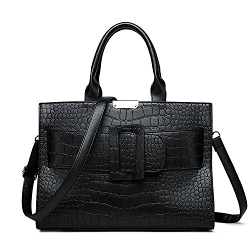 Black Messenger Sac Unique Dame Nouvelle Épaule Marron Mode Bag Meaeo De fqSIvw