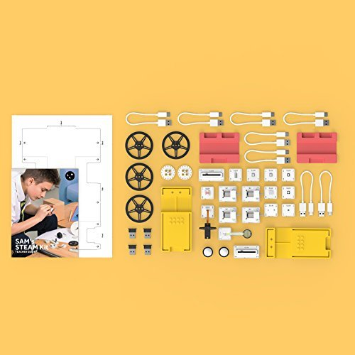 STEM Contempo Views SAM LABS STEAM Kit Teachers & Educators Teach Engineering, Science and Technology in the classroom, Libraries Schools & Camp. Lesson Plans/Activities for Middle/Elementary Schools