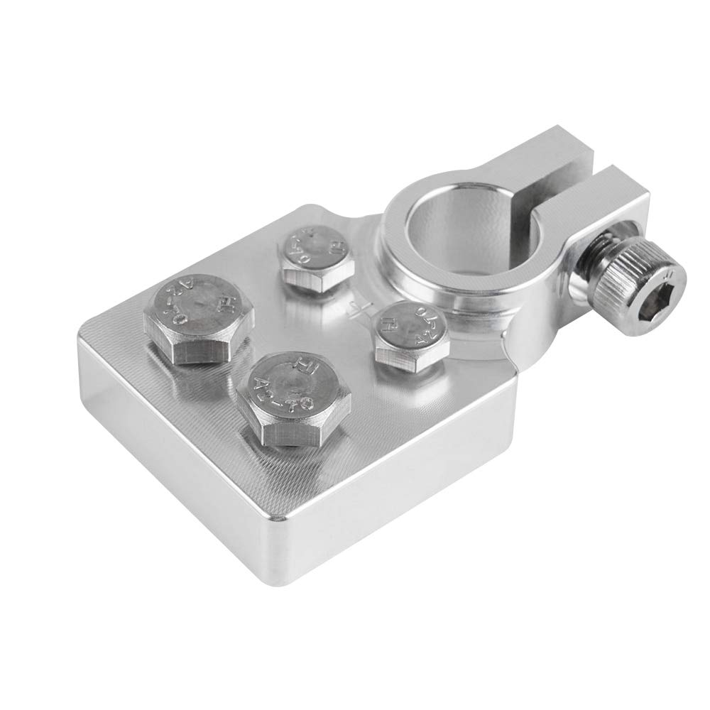 TH-OUTSE Heavy Duty Multi-Connection Battery Terminals Clamps Lead Fits Standard SAE Northstar Agm35 Agm34 Agm65 Agm24F Agm27 (4 Connetor) by TH-OUTSE