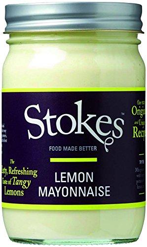 Stokes Lemon Mayonnaise, mit Limonenschale, glutenfrei, 259 ml
