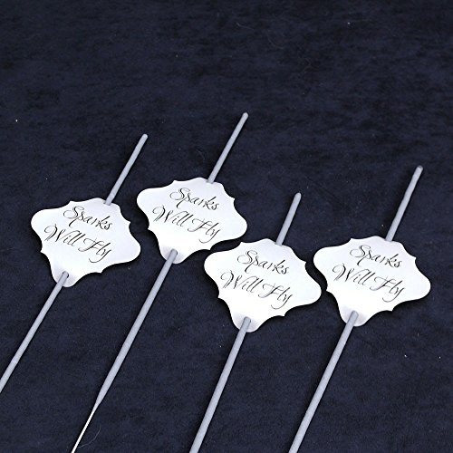 36 Wedding Sparklers Tags Shimmer product image