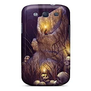 Hard Plastic Galaxy S3 Case Back Cover,hot Halloween Night Case At Perfect Diy