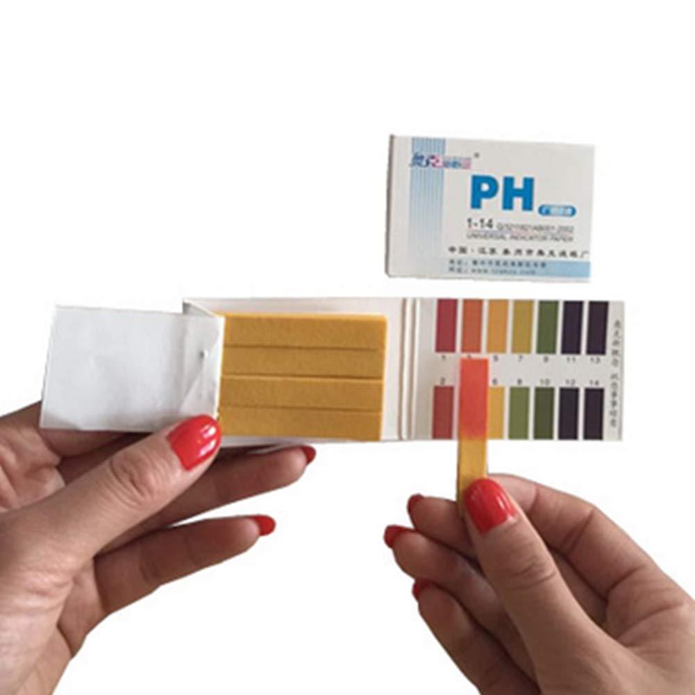 Rocita pH Test Strips Alkaline pH Test Strips Acidic Test Strips Universal Litmus Test Paper Strips Monitor Your pH Balance A Healthy Power Pack of 5