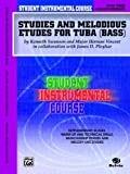 Student Instrumental Course Studies and Melodious Etudes for Tuba, Kenneth Swanson and Herman Vincent, 0757936881