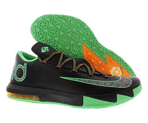 Nike KD VI (Night Vision-Brazil) Black/Lucid Green-Atomic Mango N79Ig3jE